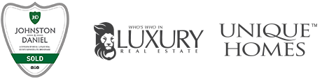 J&D, Royal Lepage, Leading Real Estate Companies of the World and Luxury Portfolio Logos