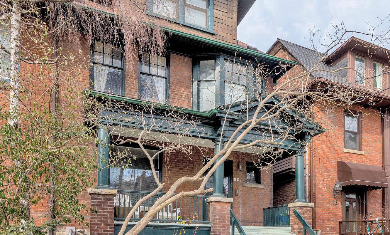 A Toronto luxury home in Summerhill with excellent potential.